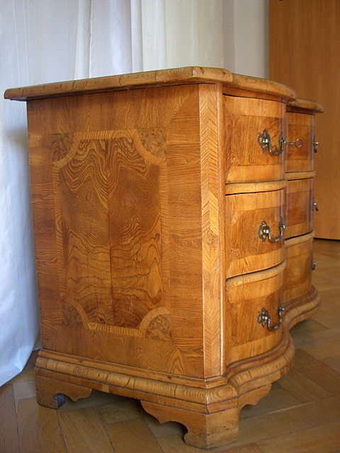 barock kommode mitteldeutsch um 1740 antike m bel und. Black Bedroom Furniture Sets. Home Design Ideas