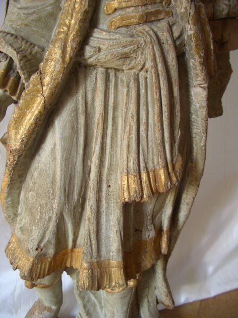 skulptur heiliger wenzel um 1700 antike m bel und antiquit ten berlin. Black Bedroom Furniture Sets. Home Design Ideas